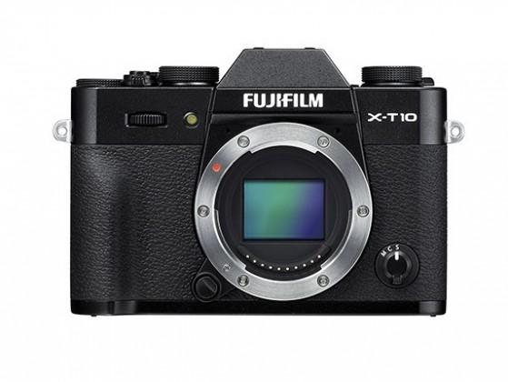 Kompakt s výmenným objektívom Fujifilm X-T10 Black (16470128)