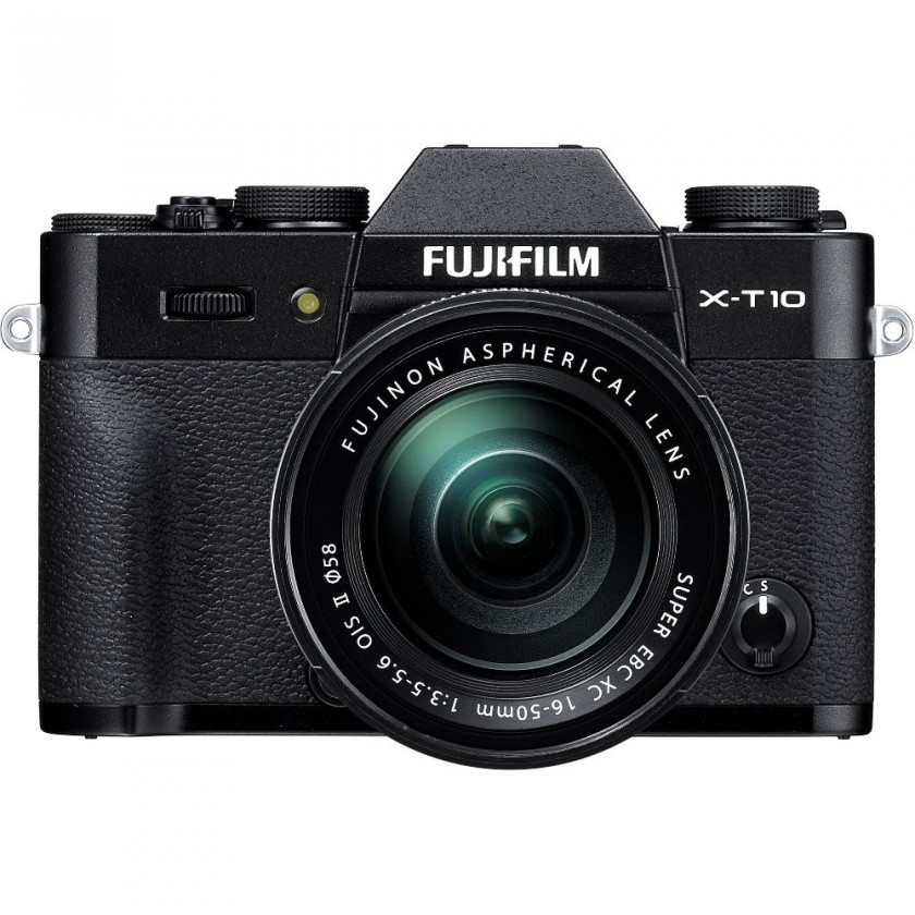 Kompakt s výmenným objektívom Fujifilm X-T10 Black + objektiv XC16-50mm