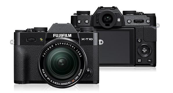 Kompakt s výmenným objektívom Fujifilm X-T10 Black + objektiv XF18-55mm