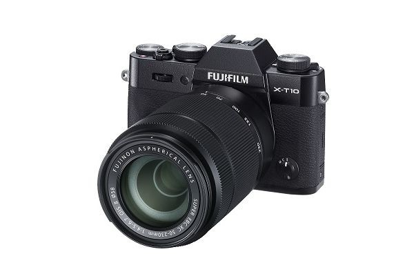 Kompakt s výmenným objektívom Fujifilm X-T10 Black + objektivy XC16-50mm + XC50-230mm