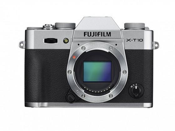Kompakt s výmenným objektívom Fujifilm X-T10 Silver + objektiv XF18-135mm