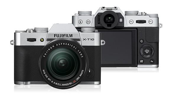 Kompakt s výmenným objektívom Fujifilm X-T10 Silver + objektiv XF18-55mm
