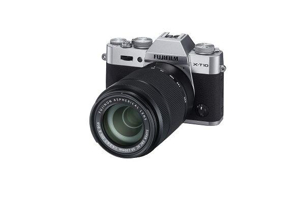 Kompakt s výmenným objektívom Fujifilm X-T10 Silver + objektivy XC16-50mm + XC50-230mm