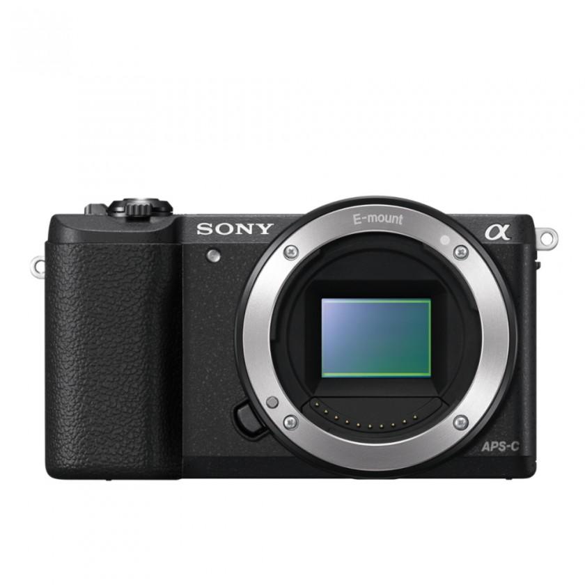 Kompakt s výmenným objektívom Sony Alpha A5100 Body (ILCE5100B.CEC)