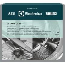 Kompletná starostlivosť o pračku AEG Clean and Care, 3v1, 6ks