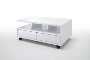 Konferenčný stolík Alkes (biela)