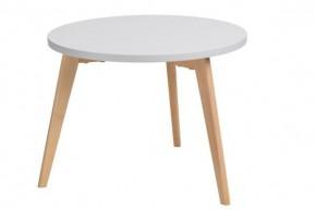 Konferenčný stolík Bergen - veľký (sivá doska/dub nohy)