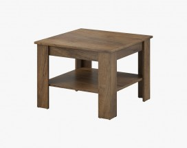Konferenčný stolík Gete - štvorec (dub burgundský)