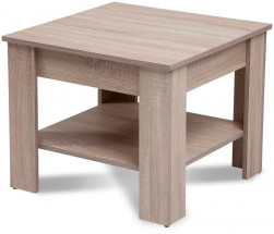 Konferenčný stolík Gete - štvorec (dub sonoma)