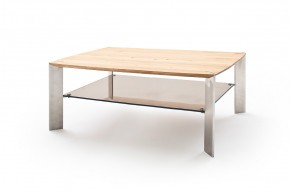 Konferenčný stolík Harla - 120x41x70 (dub, hnedá)