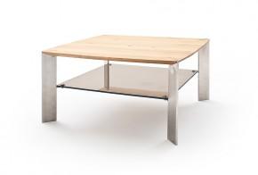 Konferenčný stolík Harla - 80x41x80 (dub, hnedá)