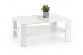 Konferenčný stolík Kwadro (biela)