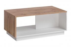 Konferenčný stolík Lund (dub wotan/biely mat)