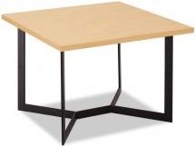 Konferenčný stolík Lure (dub, čierna)