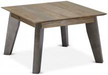 Konferenčný stolík Mety (drevo, hnedá)