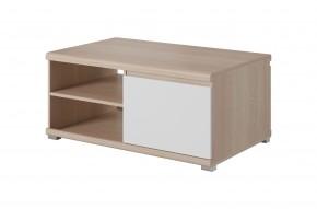 Konferenčný stolík Milo (dub sonoma, biela)