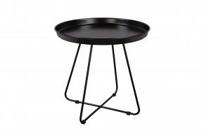 Konferenčný stolík Pogorze - L (čierny)