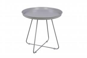 Konferenčný stolík Pogorze - L (sivý)