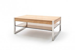 Konferenčný stolík Saget - 105x38x65 (dub, hnedá)
