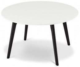 Konferenčný stolík Sens (biela, čierna)