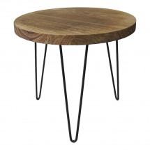 Konferenčný stolík Shape 34x31x34 (svetlé drevo)