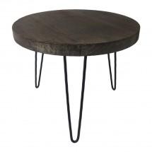 Konferenčný stolík Shape 45x36x45 (tmavé drevo)