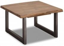 Konferenčný stolík Sturla - 70x45x70 cm (hnedá)