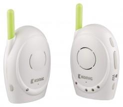 KÖNIG Digitální dětská audiochůvička, 2,4 GHz  - KN-BM10 POUŽITÝ