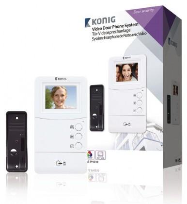 König SAS-PH310 - videotelefon, LCD3.5
