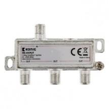 KÖNIG satelitný rozbočovač 11.0 dB / 5-2400 MHz - 3 výstupy