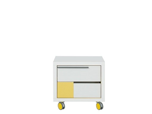 Kontajner Lemonade KNT2S (Biela/žltá)