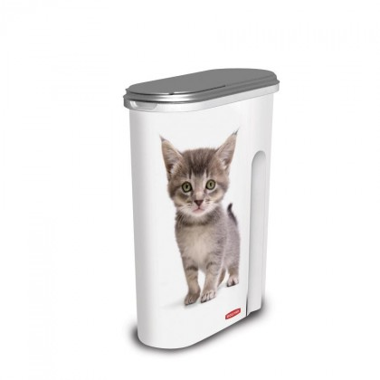 Kontajner MAČKY, 1,5kg (plast,potisk mačky)