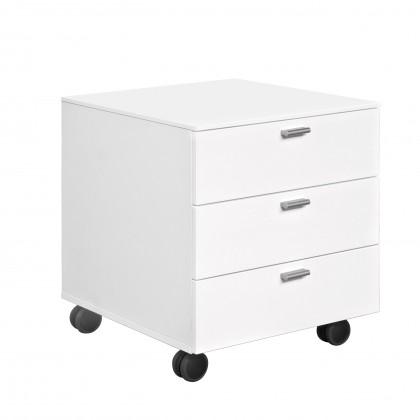 Kontajner Work - Kontajner, 3x zásuvka (biela)