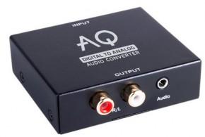 Konvektor digitální/analógové audio Acoustique Quality AC01DA