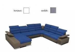Korfu - ľavý roh, 2+2+relax (korpus togo 5 / sedák novara 245)