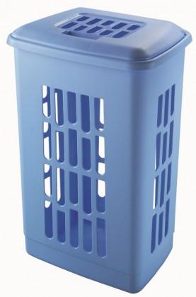 kôš na bielizeň 60l, modrá