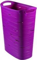 kôš na bielizeň Ribbon 49l fialový