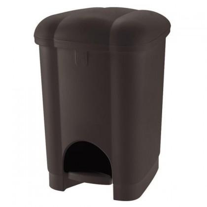 Kôš na odpadky Carolina, 16l (hnedá)