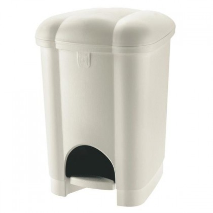 Kôš na odpadky Carolina, 16l (krémová)