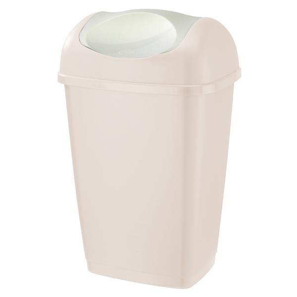 Kôš na odpadky Grace, 15l (krémová)