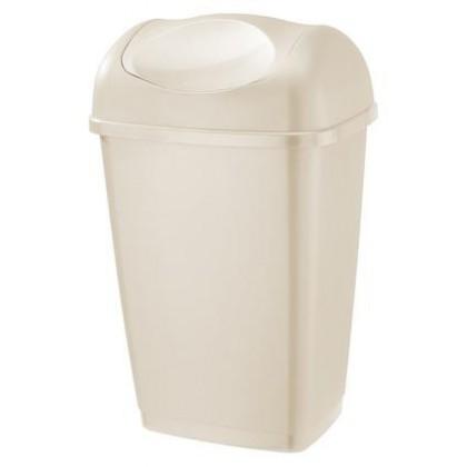 Kôš na odpadky Grace, 25l (krémová)