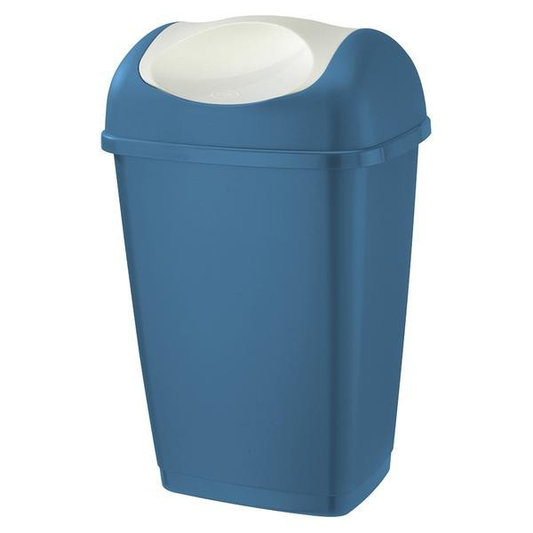 Kôš na odpadky Grace, 25l (modrá, biela)