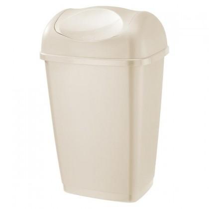 Kôš na odpadky Grace, 9l (krémová)