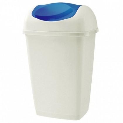 Kôš na odpadky Grace, 9l (modrá, biela)