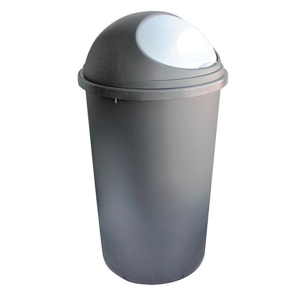 Kôš na odpadky Hoop, 25l (hnedá, biela)