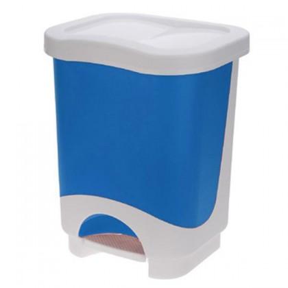 Kôš na odpadky Idea, 24l (modrá, biela)