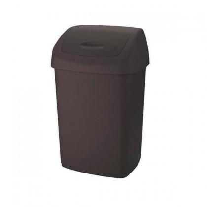 Kôš na odpadky Swing, 15l (hnedá)