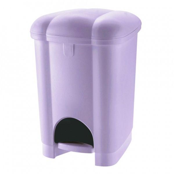 Kôš odpadkový, nášľapný, 30l  (fialová)