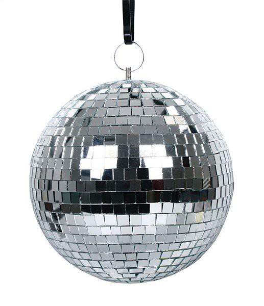 Koule na párty zrcadlová 20 cm VALUELINE VLMRBALL20