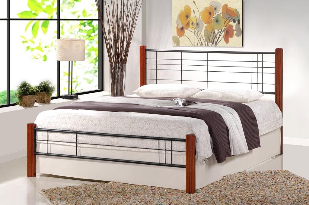 Kovová Kovová posteľ Vera 160x200, vrátane roštu, bez matracov